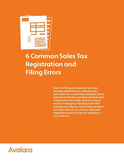 6 Common Sales Tax Registration and Filing Errors_BookCoverImage