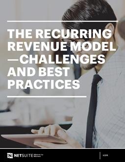 The Recurring Revenue Model Cover
