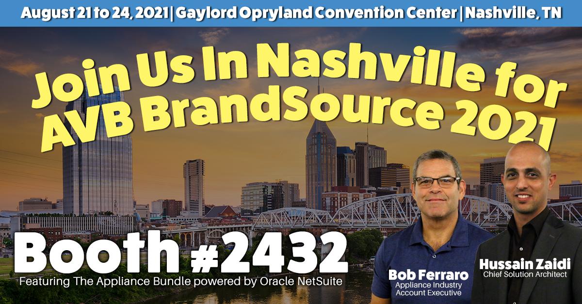 Join Business Solution Partners in Nashville, August 21-24 for AVB BrandSource 2021