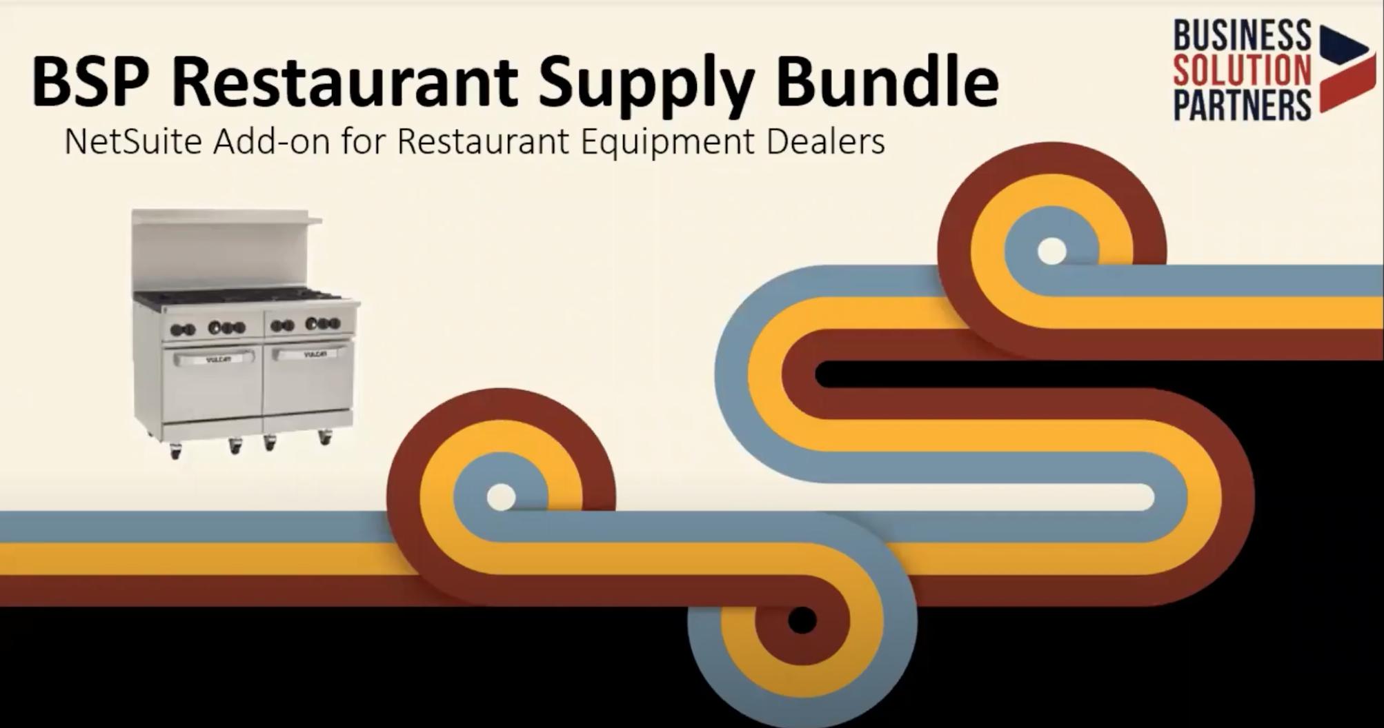 Restaurant Supply Bundle video screenshot