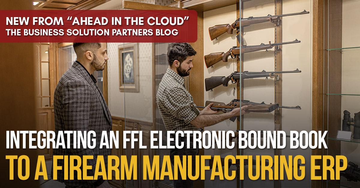 firearm vendor showcasing firearms to client